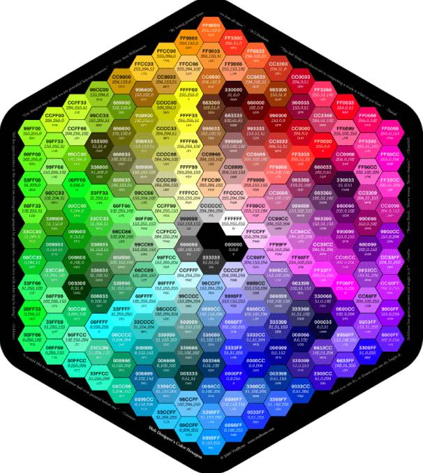 RGB 색상표