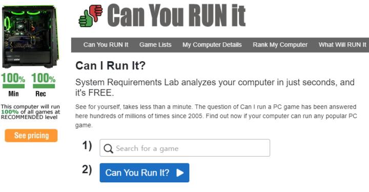 Can You RUN it 사용법